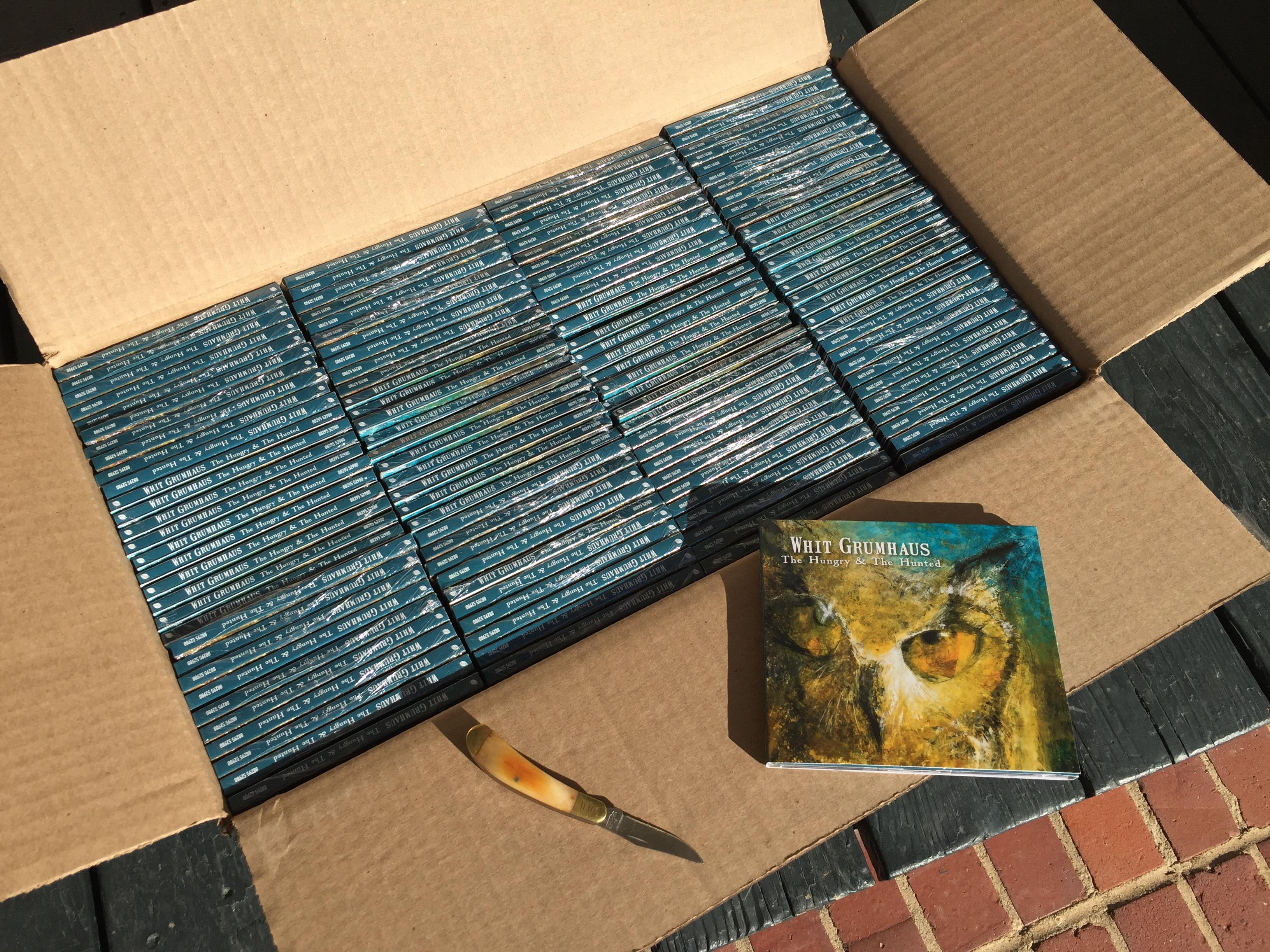 CD box opening